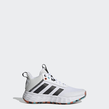 Kids Basketball White Ownthegame 2.0 Shoes