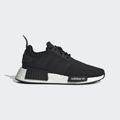 Youth Originals Black NMD_R1 Refined Shoes