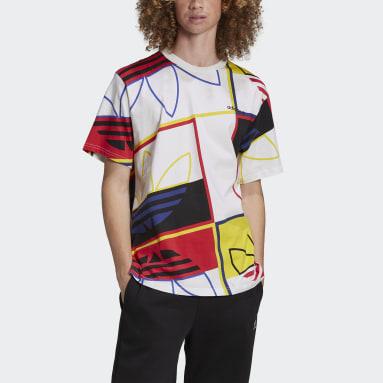 Heren Originals Wit Logo Play T-shirt