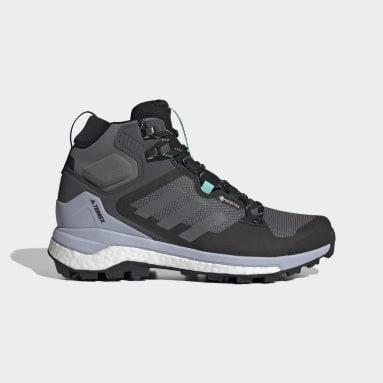 Women TERREX Grey Terrex Skychaser 2 Mid GORE-TEX Hiking Shoes