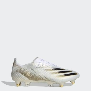 Guayos de Fútbol Ghosted.1 Terreno Suave Blanco Hombre Fútbol