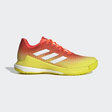 Chaussure de volley-ball CrazyFlight Orange Femmes Netball