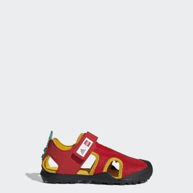 Sandali adidas x LEGO® Captain Toey Rosso Bambini TERREX