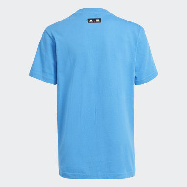T-shirt adidas x LEGO® Graphic Bleu Enfants Fitness Et Training