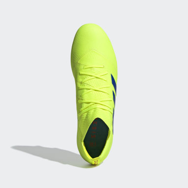 Calzado de fútbol Nemeziz 18.1 Soft Ground Amarillo Hombre Fútbol