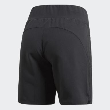 Dames HIIT Zwart Knee-Length Short