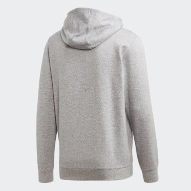 Men Sportswear Grey Essentials Camouflage Linear Hoodie