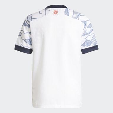 Kinderen Voetbal Wit FC Bayern München 21/22 Derde Shirt