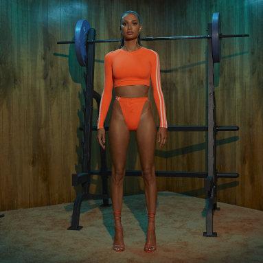 Women's Originals Orange Snap Bikini Bottom
