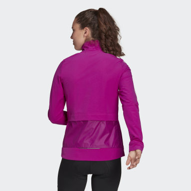 Women Cycling Pink The COLD.RDY Trackstand Cycling Jacket