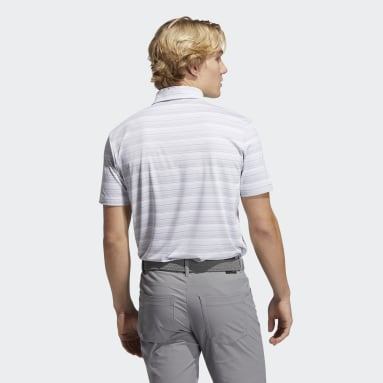 Polo Heather Snap gris Hommes Golf
