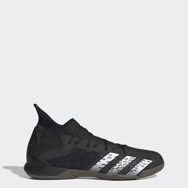 Men's Soccer Black Predator Freak.3 Indoor Shoes