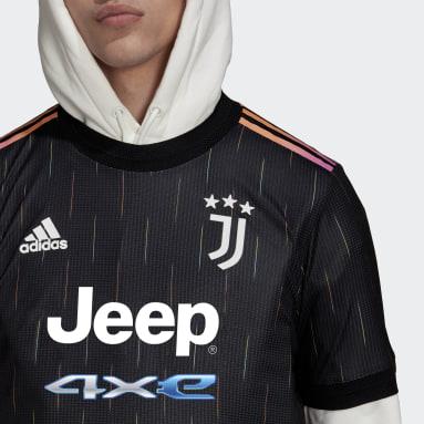 Camisa 2 Juventus 21/22 Authentic Preto Homem Futebol