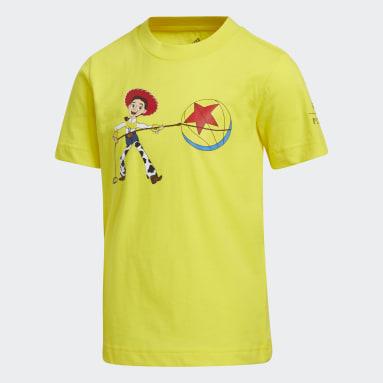 Kids Basketball Yellow Jessie x Luxo Basketball Toy Story Tee