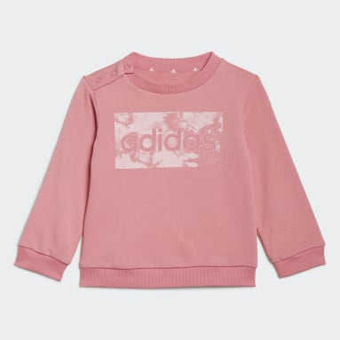 Sweat-shirt et pantalon adidas Essentials Rose Enfants Sportswear