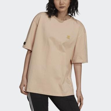 Marimekko Oversize T-skjorte Rosa