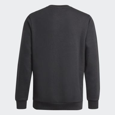 Boys Lifestyle Black Essentials Sweatshirt