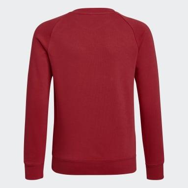 Youth Soccer Red Arsenal Crew Sweatshirt