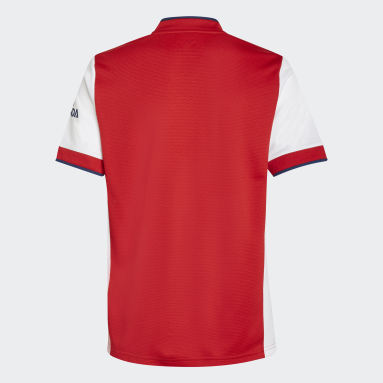 Youth 8-16 Years Football White Arsenal 21/22 Home Jersey