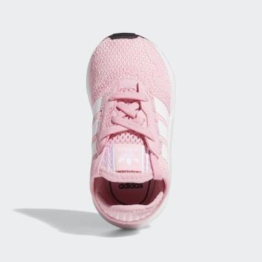 Chaussure Swift Run X Rose Enfants Originals