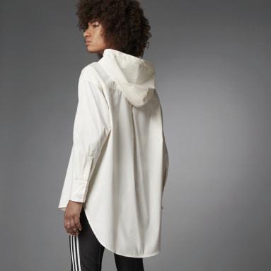 Camicia Blue Version Oversize Bianco Donna Originals