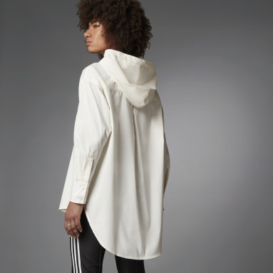 Camisa Fashion Essentials Oversize Blanco Mujer Originals