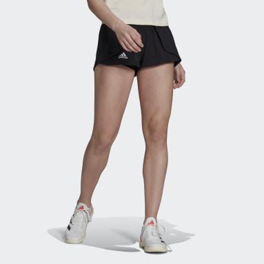 Short da tennis Match Nero Donna Tennis