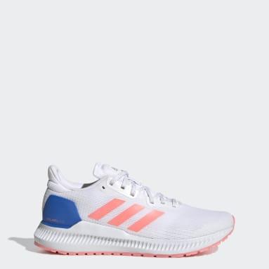 Women Running White Solarblaze Shoes