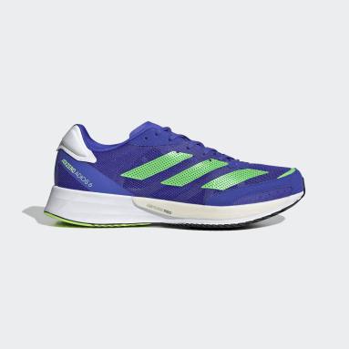Chaussure Adizero Adios 6 Bleu Running
