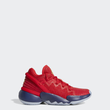 Chaussure D.O.N. Issue #2 rouge Adolescents Basketball