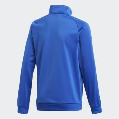 Veste Core 18 Bleu Enfants Fitness Et Training