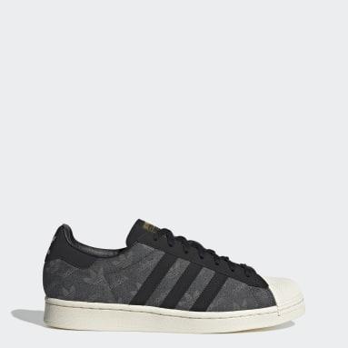 Men Originals Grey Superstar Shoes