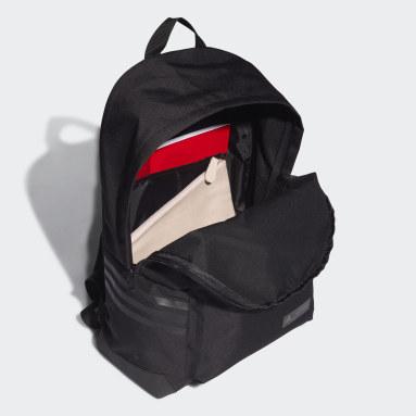 Women Gym & Training Black Marimekko Unikko Flower-Print Classic Backpack