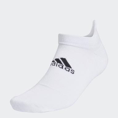 Men Golf White Ankle Socks