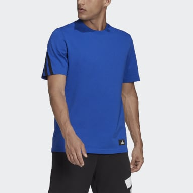 T-shirt adidas Sportswear Future Icons 3-Stripes Blu Uomo Sportswear