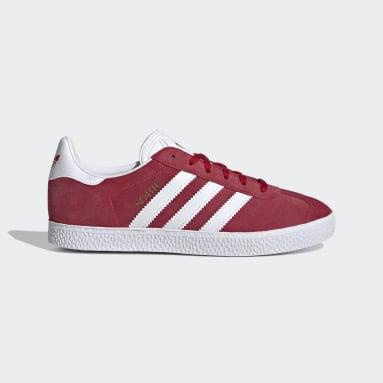 Kids Originals Red Gazelle Shoes