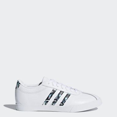 Women Tennis White Courtset Shoes