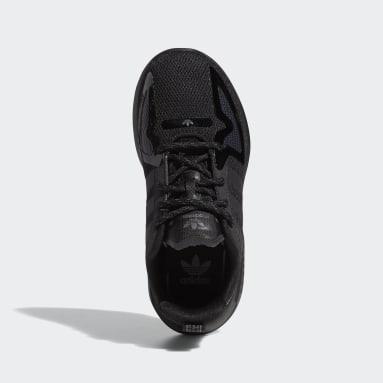 Children Originals Black ZX 2K Flux Shoes