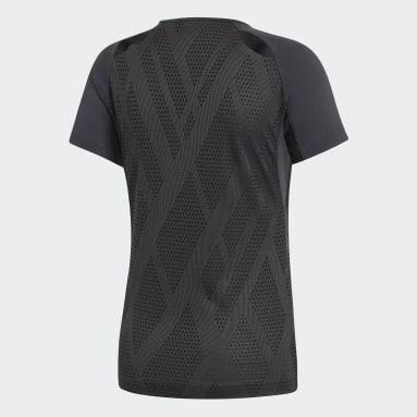 Camiseta Quickset Negro Mujer Squash