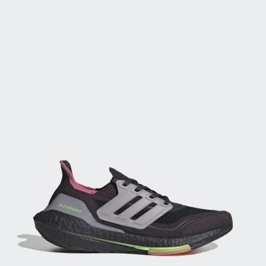 Dames Hardlopen Grijs Ultraboost 21 Schoenen