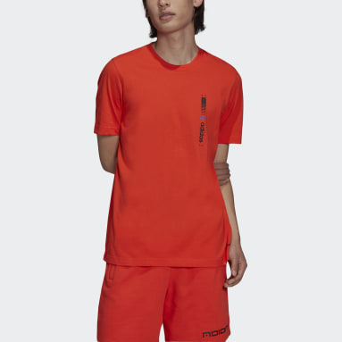 оранжевый Футболка Graphics Symbol