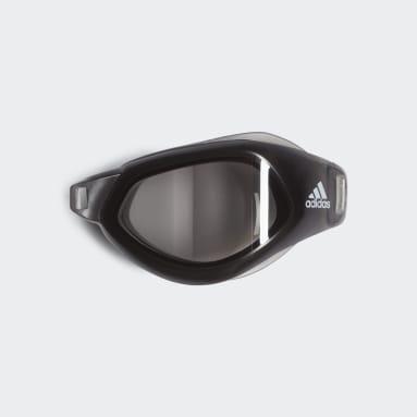 Svømning Hvid Persistar Fit Optical Goggle venstre linse
