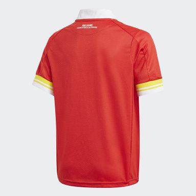 Camiseta primera equipación 1. FC Union Berlin 20/21 Rojo Niño Fútbol
