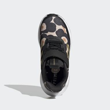 Kids Running Black EQ21 Run Marimekko Shoes