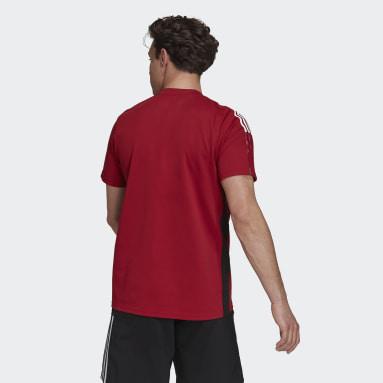 Men Football Burgundy Arsenal Tiro Polo Shirt
