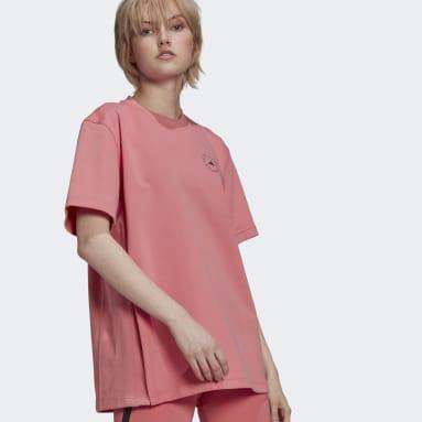 розовый Футболка adidas by Stella McCartney