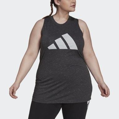 Women Sportswear Black adidas Sportswear Winners 2.0 Tank Top (Plus Size)