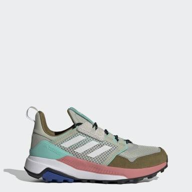 Women TERREX Green Terrex Trailmaker Blue Hiking Shoes