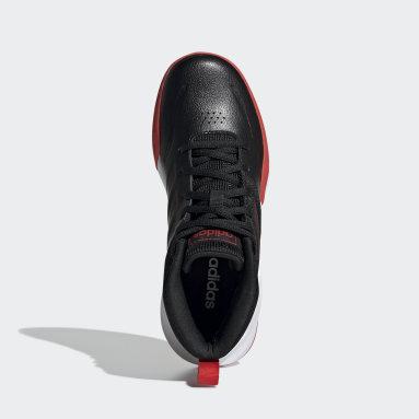 Çocuklar Basketbol Siyah Own the Game Wide Ayakkabı