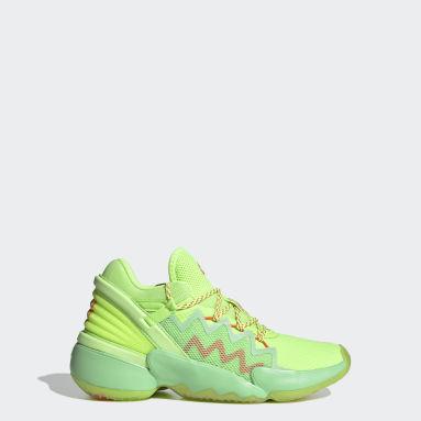 Chaussure D.O.N. Issue #2 Spidey Sense vert Adolescents Basketball